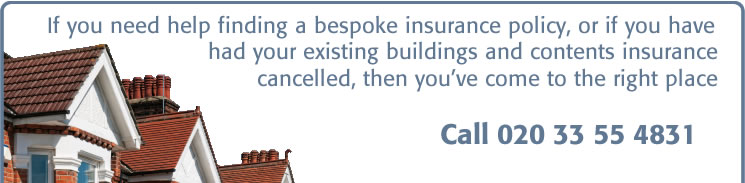 bespoke buildings and contents insurance